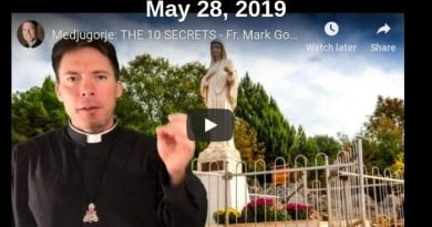 "Medjugorje: THE 10 SECRETS – Fr. Mark Goring ""Our Lady is planning on changing the world."""