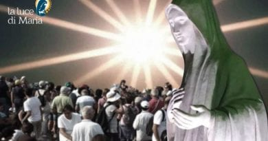 "Medjugorje: ""On the day Marija was given the ninth secret we saw fiery rays burst through the black clouds"""