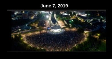 From Medjugorje:  prayer of healing and liberation  June 2019