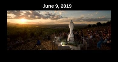 Medjugorje, prayer of healing and liberation June 9, 2019