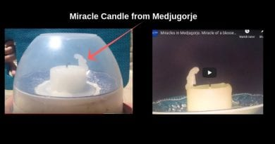 Medjugorje Miracle candle comes to Ireland…