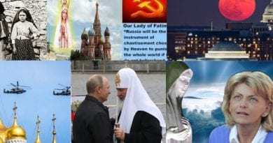 "Signs:  Putin's dire warning: Is anybody listening? ""If we do not keep this fiery serpent under control, God forbid this could lead to a global catastrophe."" Fatima, Medjugorje, Russia and the Mysterious Connection"