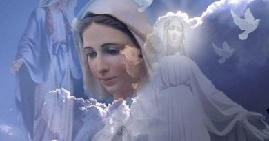 "Medjugorje: Video Drama: Pilgrim says ""Mary appeared to me"" during Mirjana's apparition. At 2:16 minutes woman is overwhelmed. ""I experienced so much joy and love towards her and from her…I cried …"""