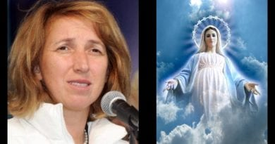 """Medjugorje July 25, 2019 Monthly Message for the World.""""Trials will come and you will not be strong, and sin will reign but, if you are mine, you will win."""""""