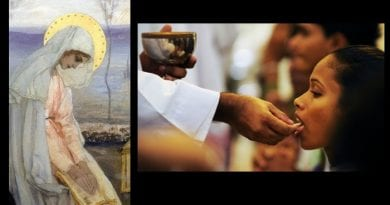 """Medjugorje: """"Too many burglaries"""" …Consecrated hosts being stolen from Medjugorje – Archbishop Hoser again mandates take communion in mouth only…People believe hosts from Medjugorje are the most """"Powerful"""", sell them for $500.00"""