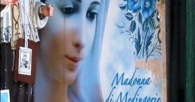 The Madonna of Medjugorje is crying in Italy   A miracle is cried out…Local Bishop to Investigate