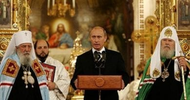 Putin: We Live In A World Based On Biblical Values; Liberals Are Trying To Dismantle It