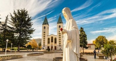 "Medjugorje: ""I bring the warm greeting and blessings of the Holy Father …"" Vicar of the Diocese of Rome"