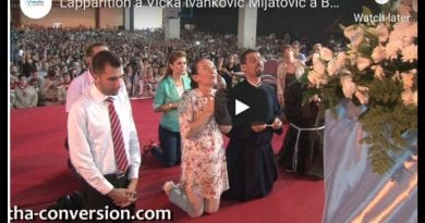 "Medjugorje: Vicka in Home town of Jesus – …See Vicka at 2:00 minutes ""The Mother of Jesus arrives in Bethlehem"""