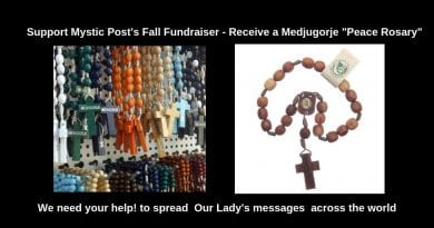 "Medjugorje's ""Seven Bead Peace Rosary"" – Help Children Learn the Rosary and Support Mystic Post's Fall Fundraiser"