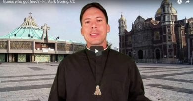 Is Sacredness Diminishing  – Fr. Mark Goring, CC… Plust the Daily Reading October 30, 2019