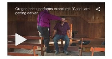 "EXORCIST PRIEST: ""Cases getting darker…"" Performs Exorcism on tormented man"