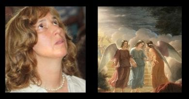 Medjugorje –  The visionary Marija: 'That time the Madonna came with a bevy of Angels…there were lots of Angels, both small and large.'