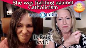 Kendra Tries to Debunk Catholicism and Christine Discovers the Truth about Reiki and the New Age