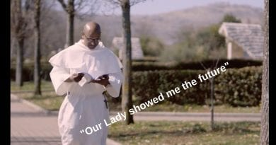 """Medjugorje: Fr. Leon – """"The Blessed Mother asked me: 'Are you willing to suffer?"""" ..Then She showed me the future. She said a time is coming when almost every Catholic will be ashamed of the words of Jesus.  She said very few Catholic will remain faithful""""…""""The Five Stones"""" of the Blessed Mother is the remedy."""