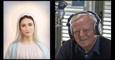 "Medjugorje: Father Livio of Radio Maria and the Great Prophecy  ""The world is destroying itself! ""Fatima is the fulfillment of Medjugorje… Russia is a sign of the coming secrets…""Russia's conversion is a sign the plan is now underway."""
