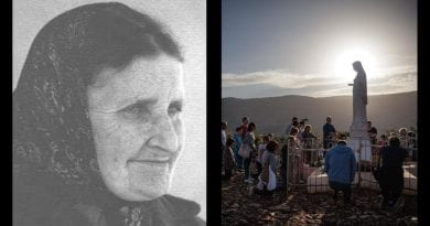 """Important words about Medjugorje: A poor soul lost in purgatory tells Austrian Mystic: """"A great danger exists if the world does not take Medjugorje into account!""""  October 23, 2019"""