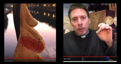 """Fertility Statues in Tiber River: was it right?"" – Fr. Mark Goring"