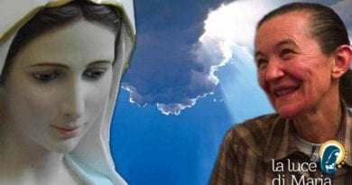 "Medjugorje: Vicka —  …Describes what she saw of Hell using example of a ""Blond Girl""… ""The blond girl goes into the fire and comes back up as a beast"""