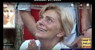 "Medjugorje: Mirjana is beautiful and radiant during apparition with the Queen of Peace. Upclose HD video…A Pearl from Mary –""If you could know the greatness of His love, you would never stop worshiping…He never abandoned you: even when you tried to get away from Him."""