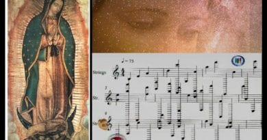 Music some scientists say comes from Heaven — Beautiful and Profound…Listen now…Celestial Music Discovered on hem of Mantel of Our Lady of Guadalupe…Miraculous and Healing?