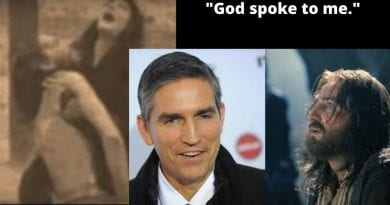 "Jesus Star Jim Caviezel: ""God Spoke to me""…While Filming Crucifixion Scene, Hears God say ""They don't love me. There are very few."""