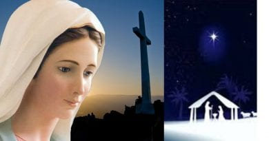 "Medjugorje:  Our Lady's mysterious request to put a flower next to the crib — ""Today I invite you to do something concrete…"""