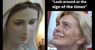 "Medjugorje – Look around at the sign of the times…""I'm sorry I cannot share with you more of what is supposed to happen in the future, but I can say; we have this time now, and we have the time of the Triumph."""