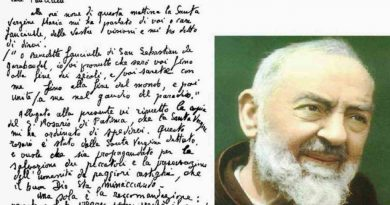 "Garabandal: The secret letter  to Visionaries from Padre Pio that confirms everything? ""You will be with Me until the end of the world, and then united with Me in the joy of Paradise."""
