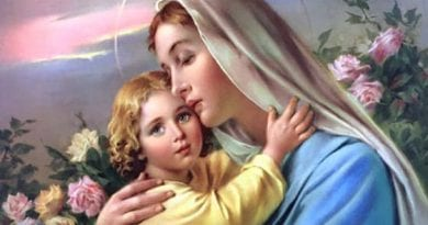 Today we say a prayer dictated by the Virgin Mary to obtain eternal salvation