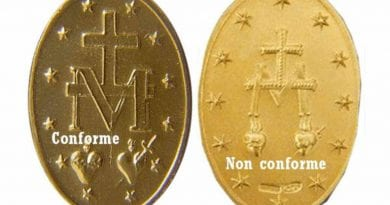 A World-wide Masonic attack has struck the Miraculous Medal —Many have been infected  with Masonic symbols! How to distinguish authentic ones from false ones – …Powerful Prayer to the Miraculous Medal
