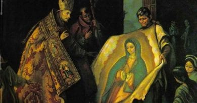 """The Impossible Miracle"" Virgin of Guadalupe: the uncorrupted mantle continues to challenge science…Today is the Feast day for Our Lady of Guadalupe"