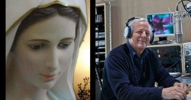Maria: 'Here in Medjugorje  Our Lady told us tonight, it is a sign of God's Mercy towards all humanity.'