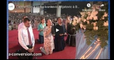 "Medjugorje: Vicka Christmas in Bethlehem  –                                                                                                                                              …See Vicka at 2:00 minutes when Our Lady arrives. ""The Mother of Jesus arrives in Bethlehem"""