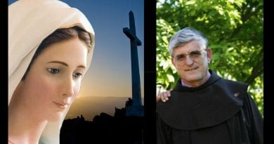 "Surprising revelations: THE SECRETS OF MEDJUGORJE Interview with Father Petar Ljubicic…The first two secrets  ""contain an important warning for the faithful of the parish of Medjugorje"""