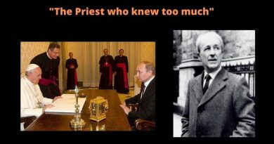 "The man who knew too much: Fr. Malachi Martin – ""I read the 3rd Secret of Fatima"" -There will be a reckoning – a dimming of the Sun -It will be the last effort of the demons to run our life…The 3rd secret will involve Russia"""