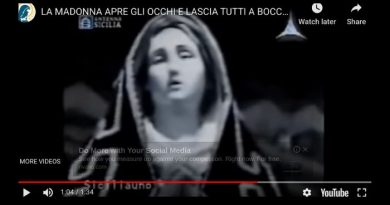 The Video of the Madonna that no one has answers…Does Virgin open and close eyes. Experts in Rome baffled