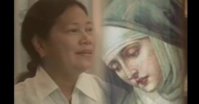 Visionary Emma Guzman  talked to holy souls and saints – saw St. Bernadette of Lourdes and St. John the Baptist – many powerful believers
