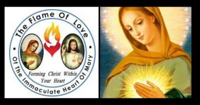 """Flame of Love""and the prayer ""That blinds satan"" Movement coming to USA  – Hopes to hasten the Triumph of Our Lady's Heart"