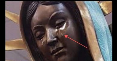 Miracle: USA Catholic Bishop says tears flowing from Our Lady of Guadalupe statue are Olive Oil…Powerful evidence