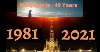 The Ten Secrets of Medjugorje –  Parallels to Sacred Scriptures of the Bible and the 40 Days of Warnings.
