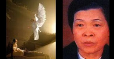 "Akita Visionary's Mysterious new message from Guardian angel after 30 years – ""Cover in Ashes""…A warning and biblical reference to the prophetic book of Jonah…"