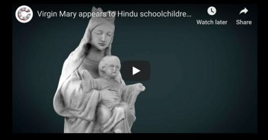 Virgin Mary appears to Hindu schoolchildren in India, miracles reported smell of Jasmine.