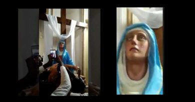 Tears from Heaven – The Incredible Life-Like Video of Our Lady of Sorrows who cried before the Tragedy in Sri Lanka – VIDEO