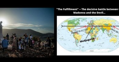"The Mysterious Message that powerfully connects Medjugorje to Fatima- ""The Fulfillment"" — The decisive battle between the Madonna and the Devil… Here are the signs before there is the final triumph of the Immaculate Heart of Mary"