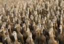 "Biblical Signs: Army of 100,000 Chinese ducks to battle locust plague along border. ""Biological weapons"" – ""One duck is able to eat more than 200 locusts a day,"" Plagues and pestilence."