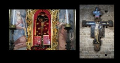 "Coronavirus: ""The Church too has her weapons."" Church in Italy confronts epidemic with the miraculous Crucifix used in the plague years"