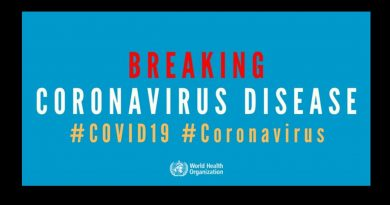* World Health Organization declares coronavirus a pandemic – Pray, pray, pray!