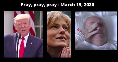 "Coronavirus: President Trump Declares March 15, 2020 National Day of Prayer to Overcome Coronavirus: ""Together We Will Easily Prevail"" – Read his announcement here –"