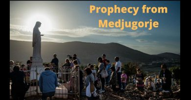 "Prophecy from Medjugorje: ""As individuals, you cannot stop the evil that wants to begin to rule in this world and to destroy it. But, according to God's will, all together, with my Son, you can change everything and heal the world.""  Our Lady, the Queen of Peace."